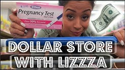 GET MONEY!! DOLLAR STORE WITH LIZZZA | Lizzza