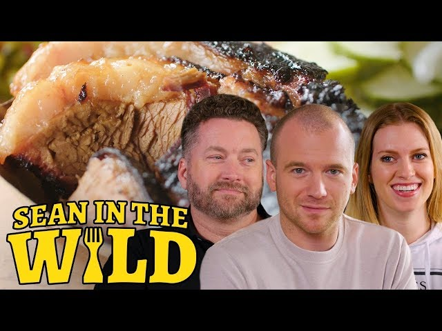 Rooster Teeth and Sean Evans Sample New York City BBQ   Sean in the Wild