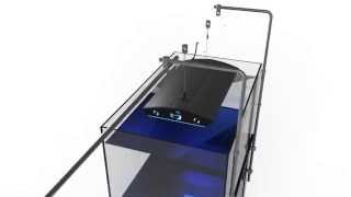 IQuatics Universal Aquarium Lighting Mounting Kit Hanging System