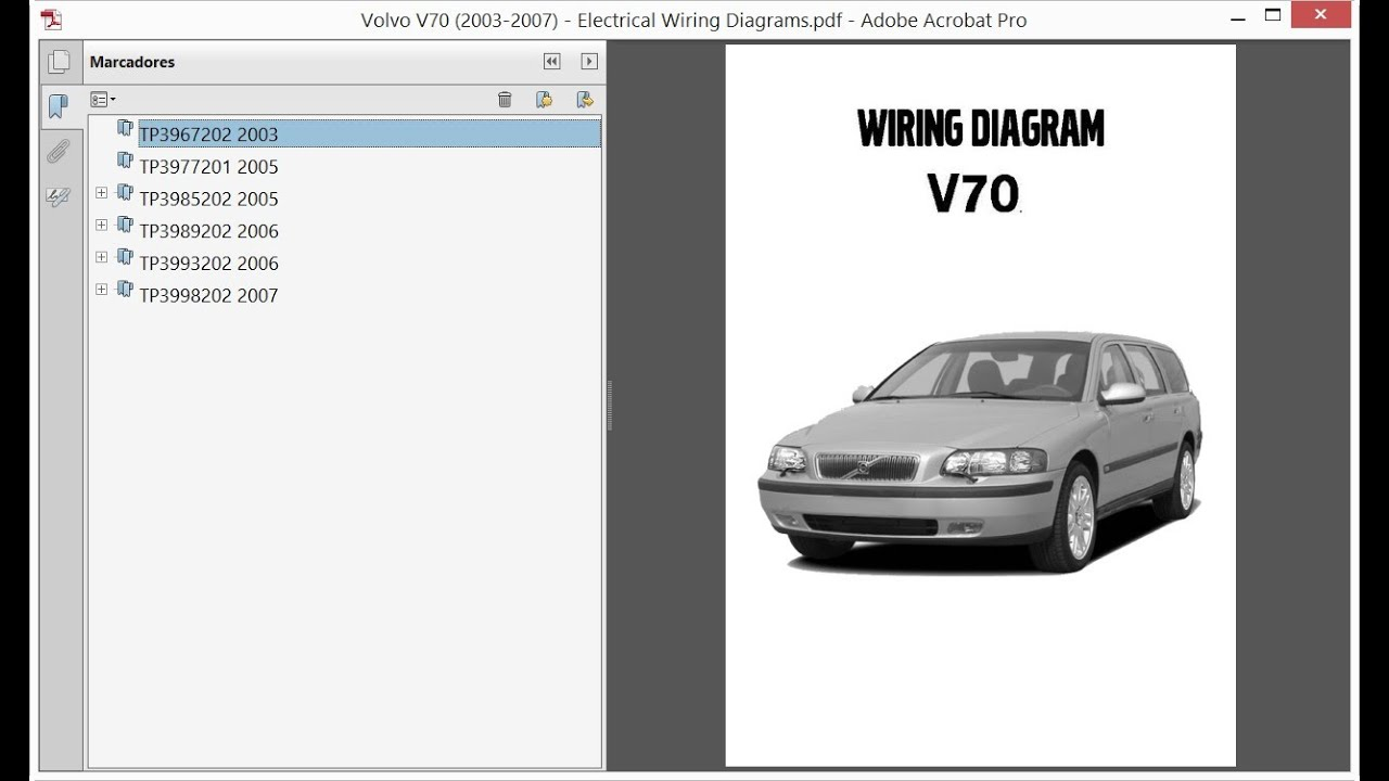 2003 Volvo Xc70 Wiring Diagram