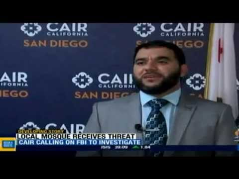 Video: California Mosques on Alert After San Diego Threat (CAIR)