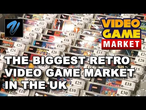 The BIGGEST retro Video Game Market in the UK! // Doncaster, UK