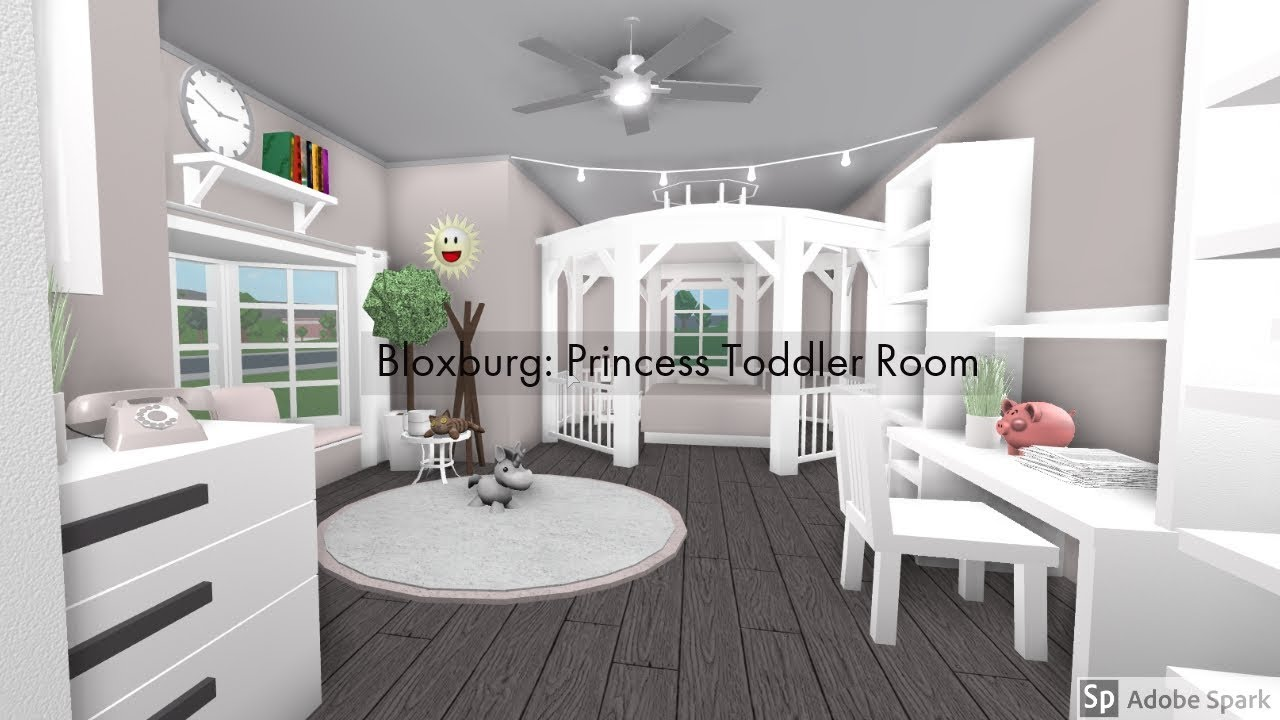 Bloxburg Princess Toddler S Room Youtube