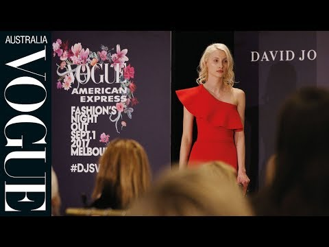Inside Vogue American Express Fashion's Night Out Melbourne 2017