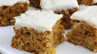 Carrot Cake - Video Recipe