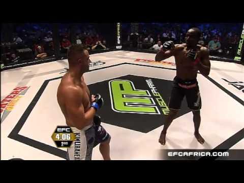 Ahana vs Lombard Fight EFC AFRICA 07