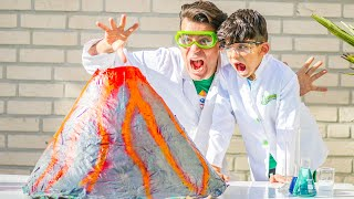 Home Vulcano Science Experiment with Jason