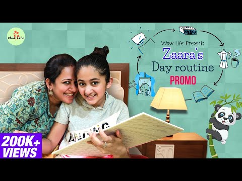 Zaara's Day Routine Ft. Zaara, Ann, Archana | Full Video