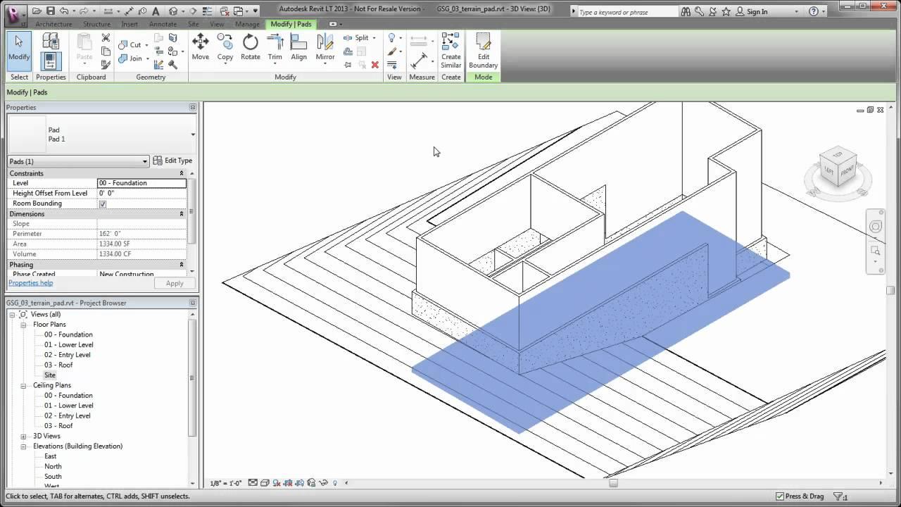 revit how to cut floor openings