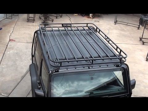 Garvin Expedition Rack Installation for 2007 - 14 JK Wrangler