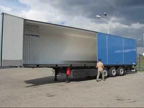 Schmitz Cargobull Folding Wall Semi Trailer Sko Fp25 Fw