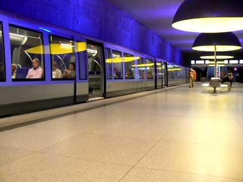 U-Bahn München Linie U1 / Munich subway line U1