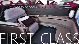 Qatar Airways First Class   Airbus A380