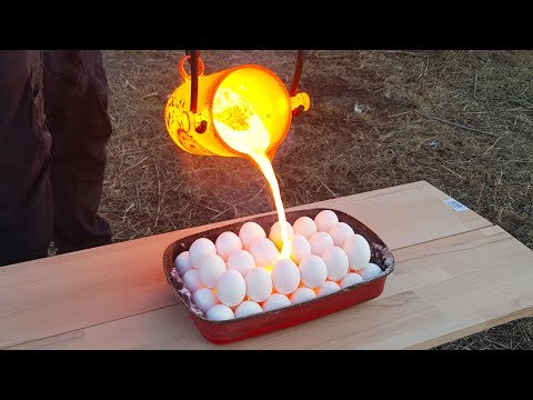 EXPERIMENT LAVA vs EGGS