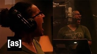 Alabama Shakes BTS Recording Squidbillies Theme Song | Squidbillies | Adult Swim