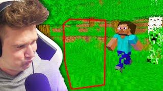 NIEWIDZIALNA ŚCIANA TROLL | Minecraft Extreme