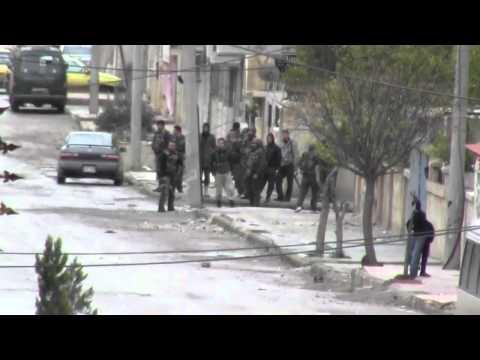 شام ؛؛   درعا القصور؛؛مظاهرات الاحرار دعم الجيش الحر ؛؛ 13 1 2012جـ1