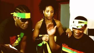 Sheila Hylton, Lushy Banton & Elvis D - Black, Green & Gold To The World
