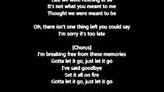Avril Lavigne - Let Me Go feat. Chad Kroeger (Lyrics)