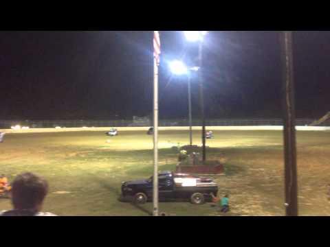 USCS a Clayhill Motorsports Tyler Blank Heat Race 2nd view