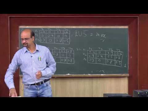 Fuzzy relation matrix, compositions, projections -Lecture 08 By Prof S Chakraverty