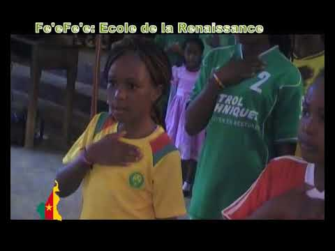 hymne du Cameroun en fe'efe'e