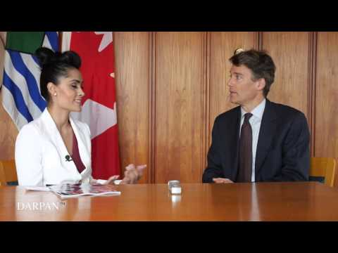 Chat Central Vancouver Mayor Gregor Robertson (DARPAN MAGAZINE)