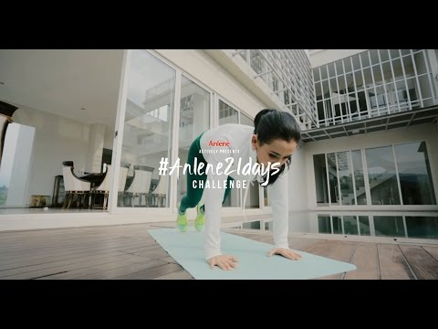 #Anlene21Days Challenge - Home Movements (07)