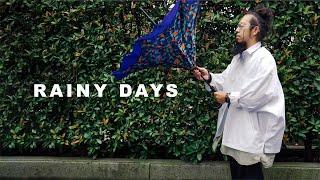 【雨の日コーデ】雨の日を快適に過ごすお気に入りレイングッズ紹介 | The Noth Face | タグアンポンチョ | ユニクロ | 防水