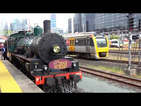 BB18 ¼ 1079 - Steam Train Sunday - Sherwood Loop - 1/07/2018