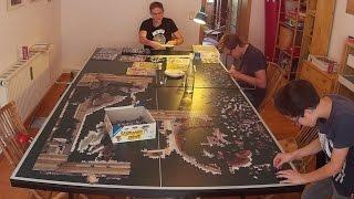 5000 piece Ravensburger Puzzle | Creation of Adam | Time Lapse