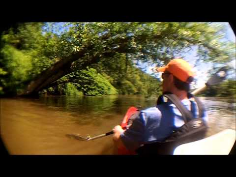 Kayak NJ Upper Delaware River Trip Day 1 Narrowsburg to 10 Mile River 062215