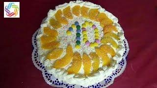 ВКУСНЫЙ ТОРТ, готовим с мамой торт - бисквит со взбитыми сливками.(Готовим с мамой вкусный торт - бискивит с начинкой из консервированных персиков и взбитыми сливками. Нам..., 2016-02-18T13:30:00.000Z)