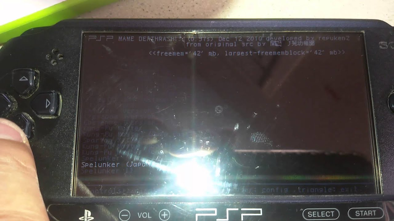 How To Put Mame Roms On Psp