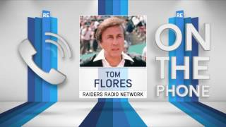 Super Bowl Winning Head Coach Tom Flores on Why He's Not in The HOF & More - 12/8/16