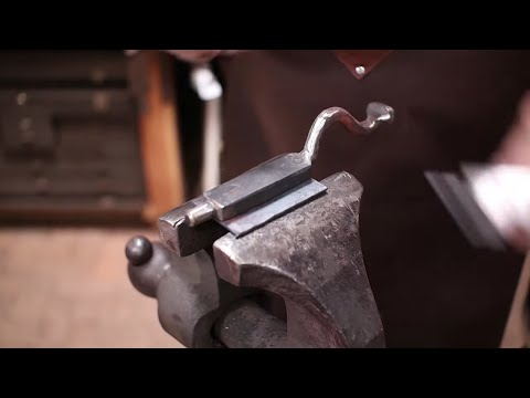 Forging a slide bolt - part 1