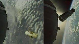 Soyuz MS-09 external camera