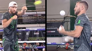 WELCOME TO THE LOMA SHOW - LOMACHENKO PERFORMS CIRCUS TRICKS, JUGGLES DURING WORKOUT