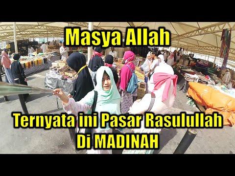 Ramainya Toko Penyedia Perlengkapan Haji.