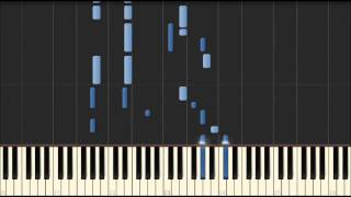 Synthesia(無料ソフト)自動演奏&ピアノ専用音源合成 楽譜の配布はし...