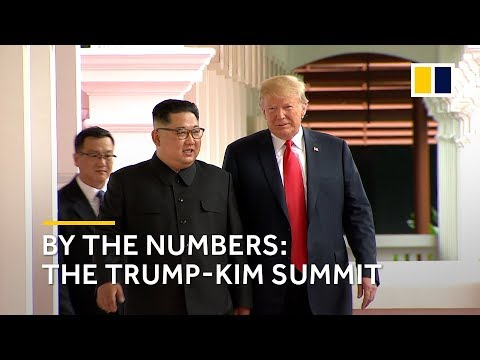 Trump-Kim Singapore summit: by the numbers