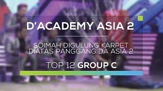 Soimah Digulung Karpet di Atas Panggung D'Academy Asia 2