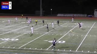 Triton College Men's Soccer vs Rock Valley 10/22/19 - Region IV Semi Finals
