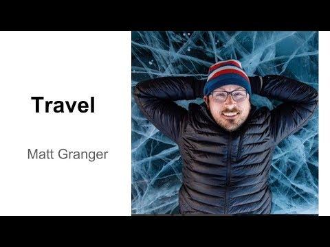 Matt Granger: Travel Photography Photo Critique (Tony & Chelsea Live)