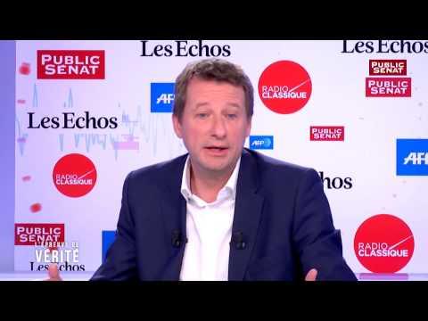 Yannick Jadot à propos d'Emmanuel Macron