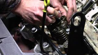 3900 LZ9 Head Gasket Replacement Part 7 of 9 – Rocker Arm Reinstall