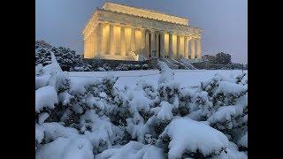 WINTER STORM  Dumps SNOW on the Washington DC Area on January 13th, 2019
