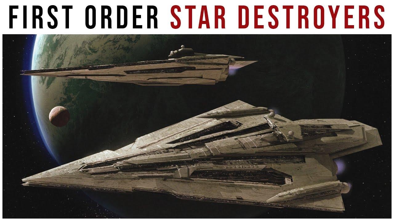 Star Wars First Order Star Destroyer Concept Art