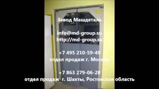 Маятниковые двери ПВХ Машдеталь фото(, 2014-08-08T02:33:34.000Z)