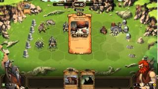 First Look At Scrolls Part 01 - Peadee Games - Mojang